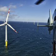 Wikinger, Offshore-Windpark Borkum West in der Nordsee