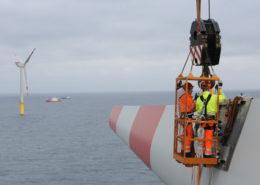 Wikinger, windfarm Alpha Ventus